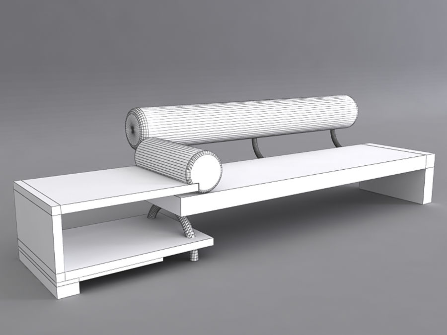 Sofas collection royalty-free 3d model - Preview no. 28