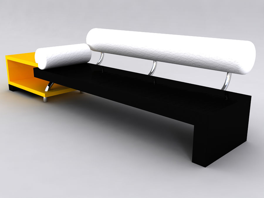 Sofas collection royalty-free 3d model - Preview no. 27