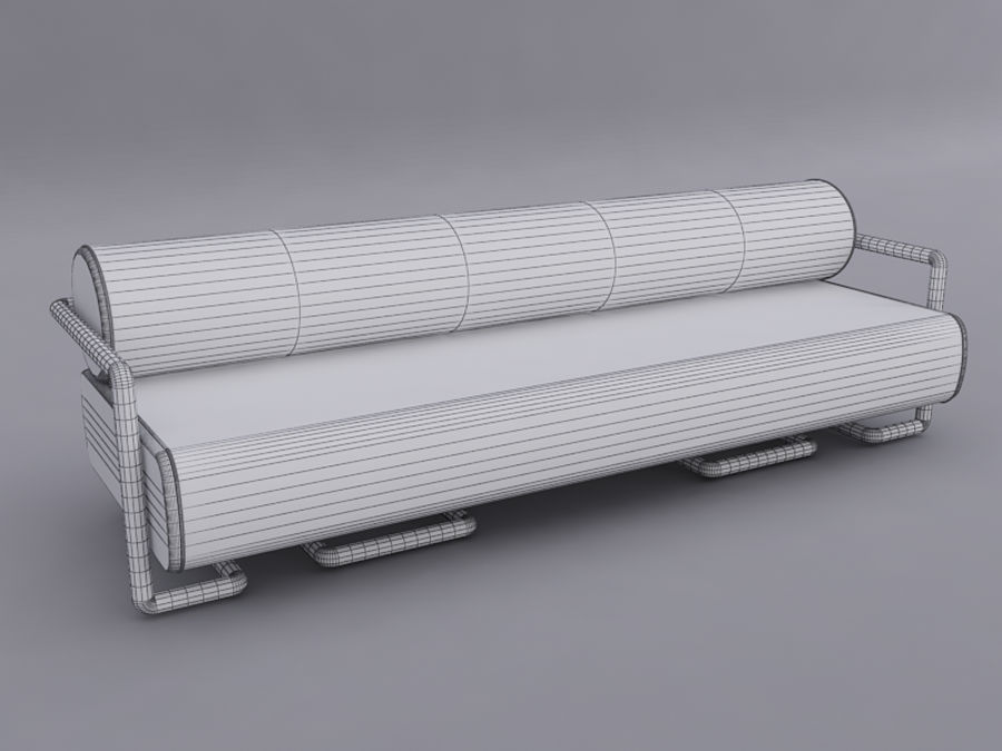 Sofas collection royalty-free 3d model - Preview no. 13