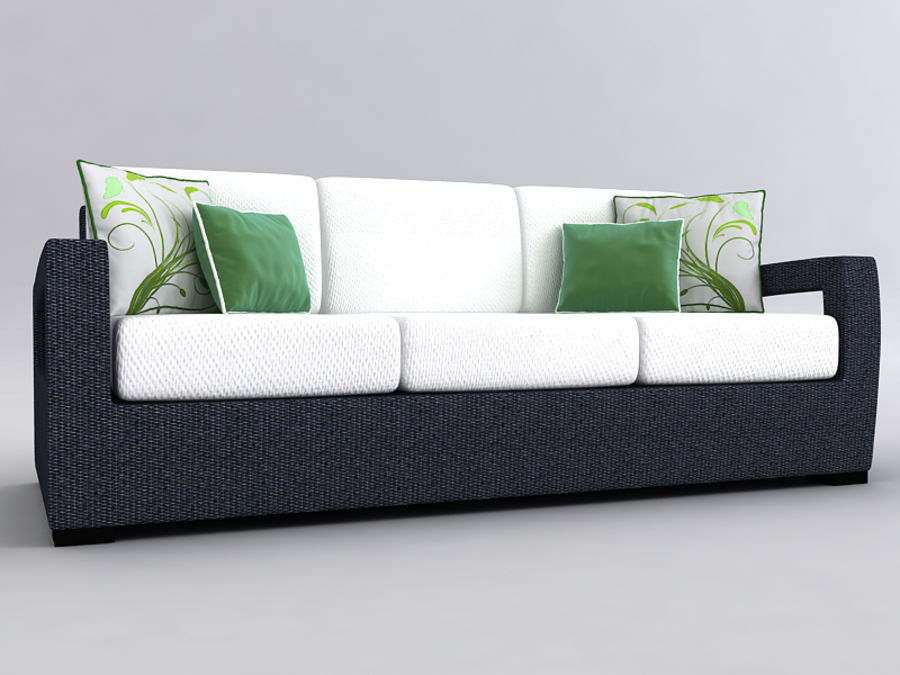 Sofas collection royalty-free 3d model - Preview no. 23