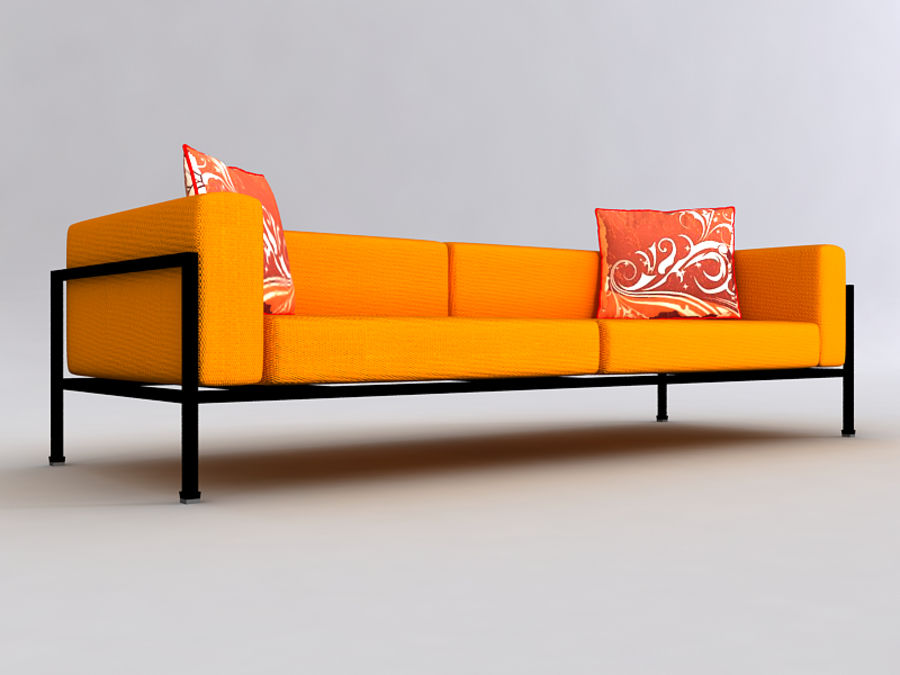 Sofas collection royalty-free 3d model - Preview no. 29