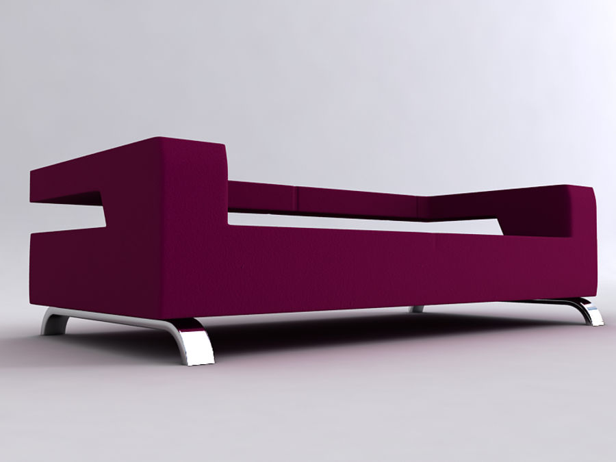 Sofas collection royalty-free 3d model - Preview no. 32