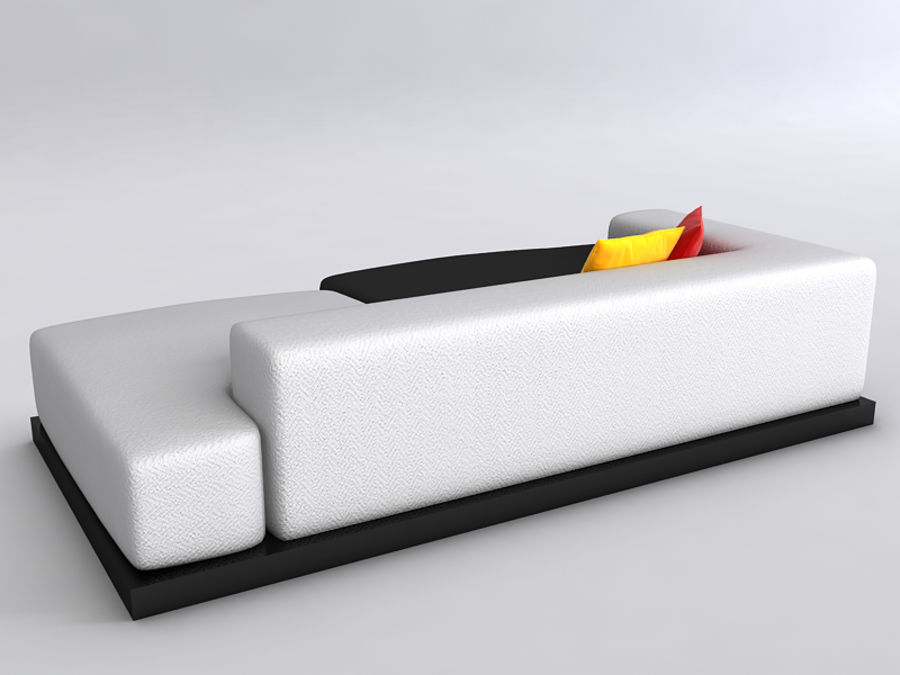 Sofas collection royalty-free 3d model - Preview no. 42