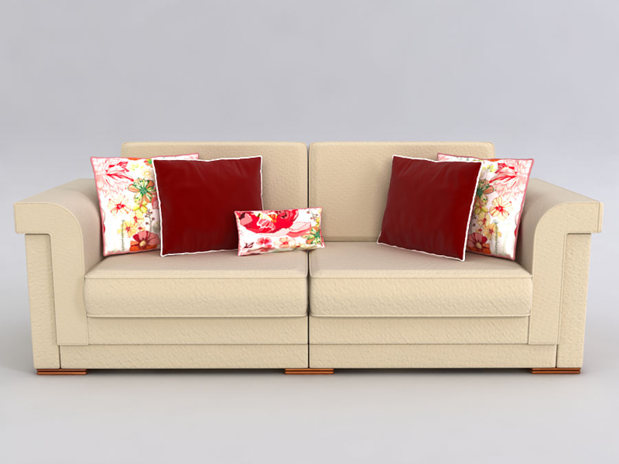 Sofas collection royalty-free 3d model - Preview no. 39