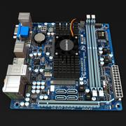 Carte mère Gigabyte E350N-USB3 3d model