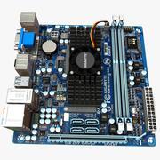 Placa-mãe Gigabyte E350N-USB3 3d model