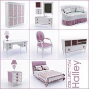 Coleção dos móveis infantis Halley (2) (1) 3d model