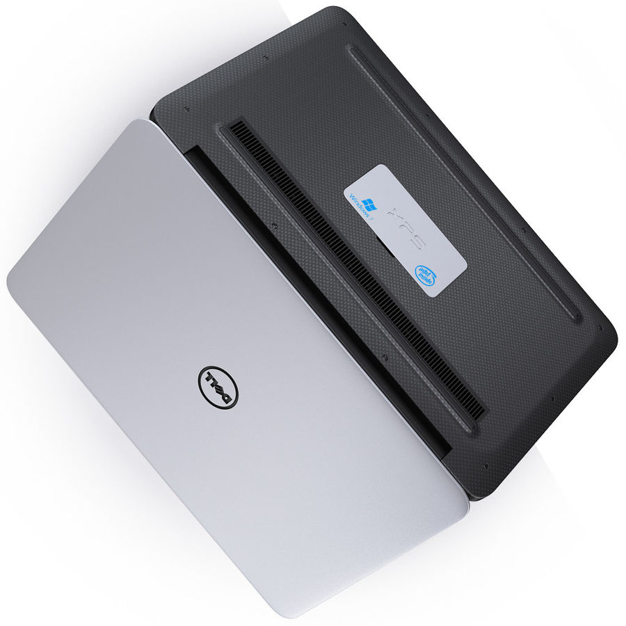 DELL XPS 13 Ultrabook royalty-free 3d model - Preview no. 14