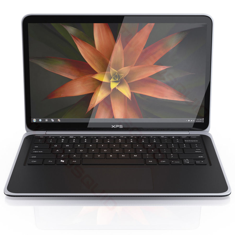 DELL XPS 13 Ultrabook royalty-free 3d model - Preview no. 6