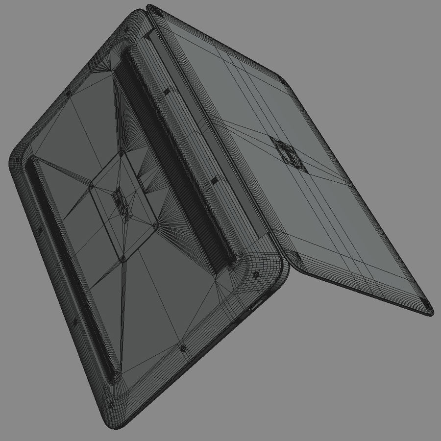 DELL XPS 13 Ultrabook royalty-free 3d model - Preview no. 22