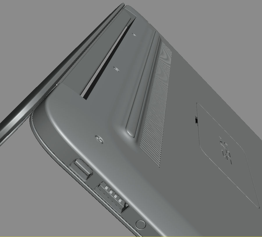 DELL XPS 13 Ultrabook royalty-free 3d model - Preview no. 23