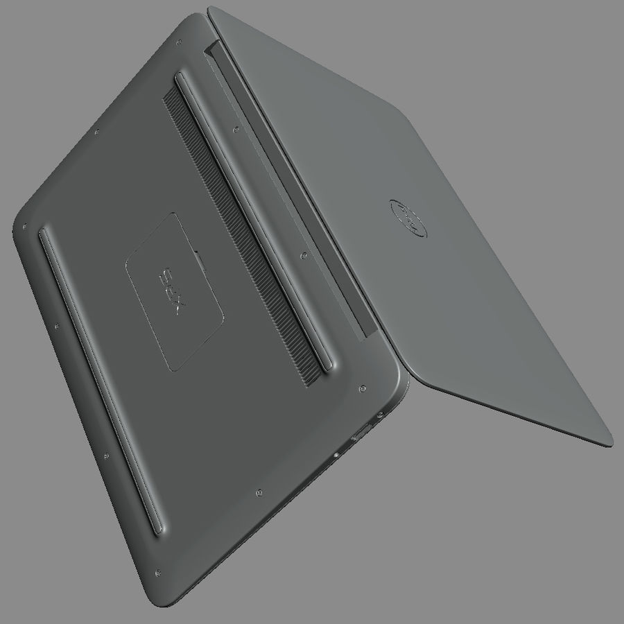 DELL XPS 13 Ultrabook royalty-free 3d model - Preview no. 21