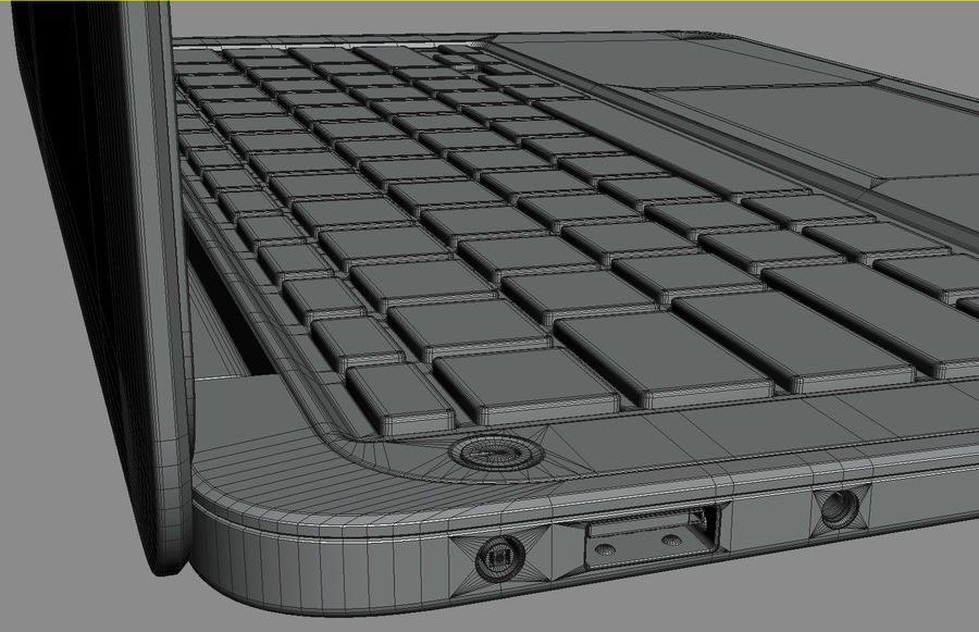 DELL XPS 13 Ultrabook royalty-free 3d model - Preview no. 26