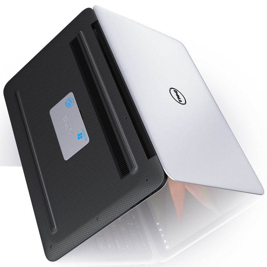 DELL XPS 13 Ultrabook royalty-free 3d model - Preview no. 13