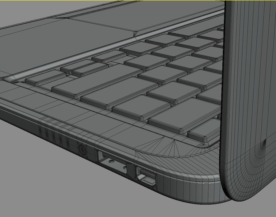 DELL XPS 13 Ultrabook royalty-free 3d model - Preview no. 28