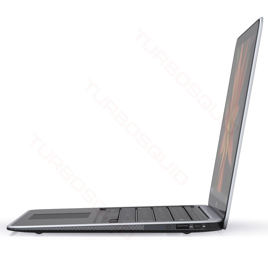 DELL XPS 13 Ultrabook royalty-free 3d model - Preview no. 10