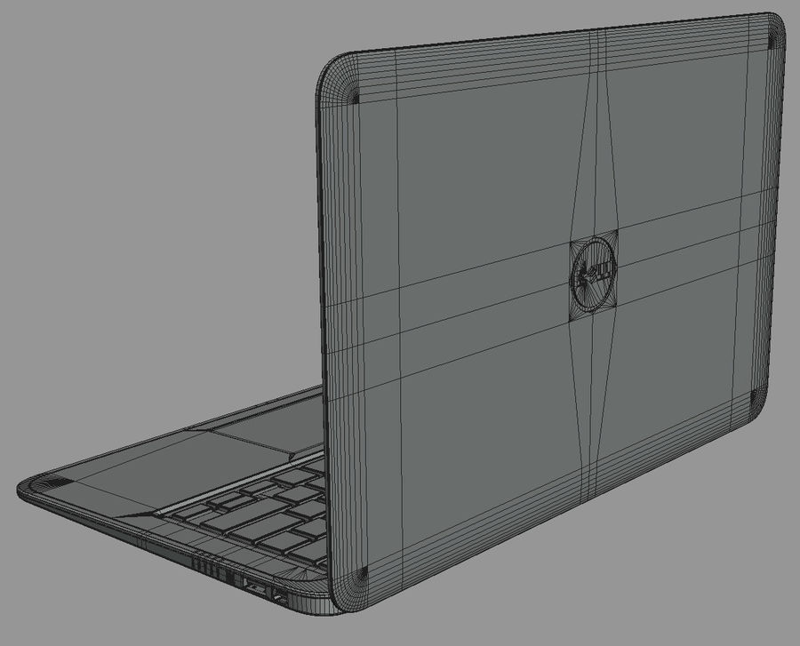 DELL XPS 13 Ultrabook royalty-free 3d model - Preview no. 20