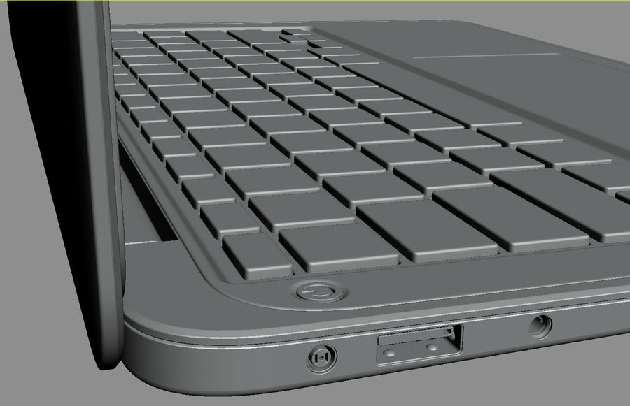 DELL XPS 13 Ultrabook royalty-free 3d model - Preview no. 25