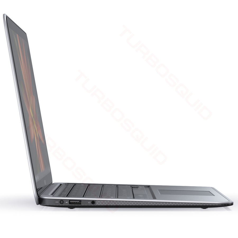 DELL XPS 13 Ultrabook royalty-free 3d model - Preview no. 9