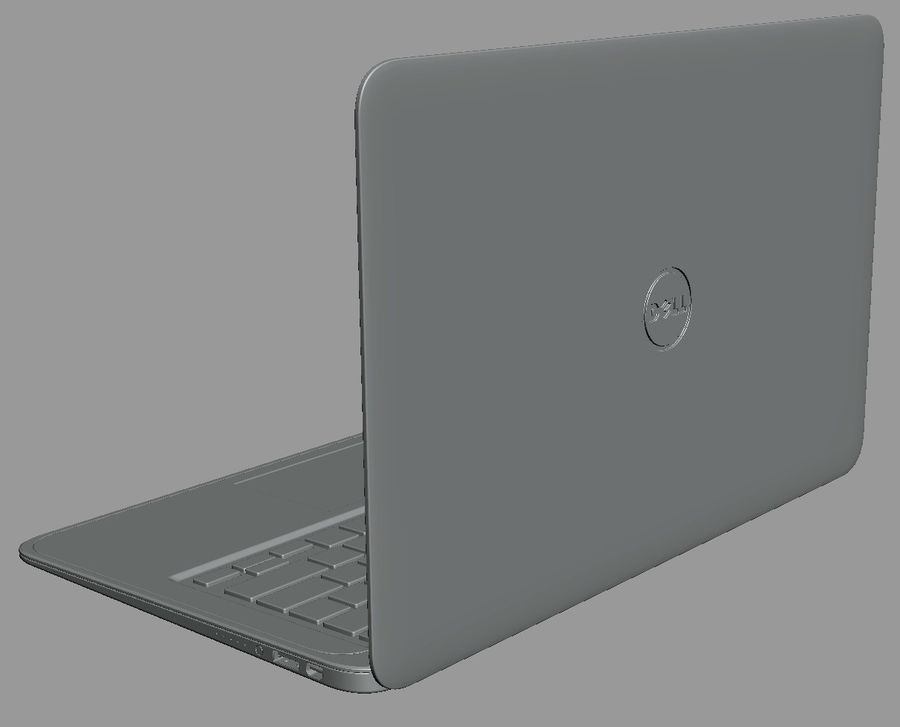 DELL XPS 13 Ultrabook royalty-free 3d model - Preview no. 19