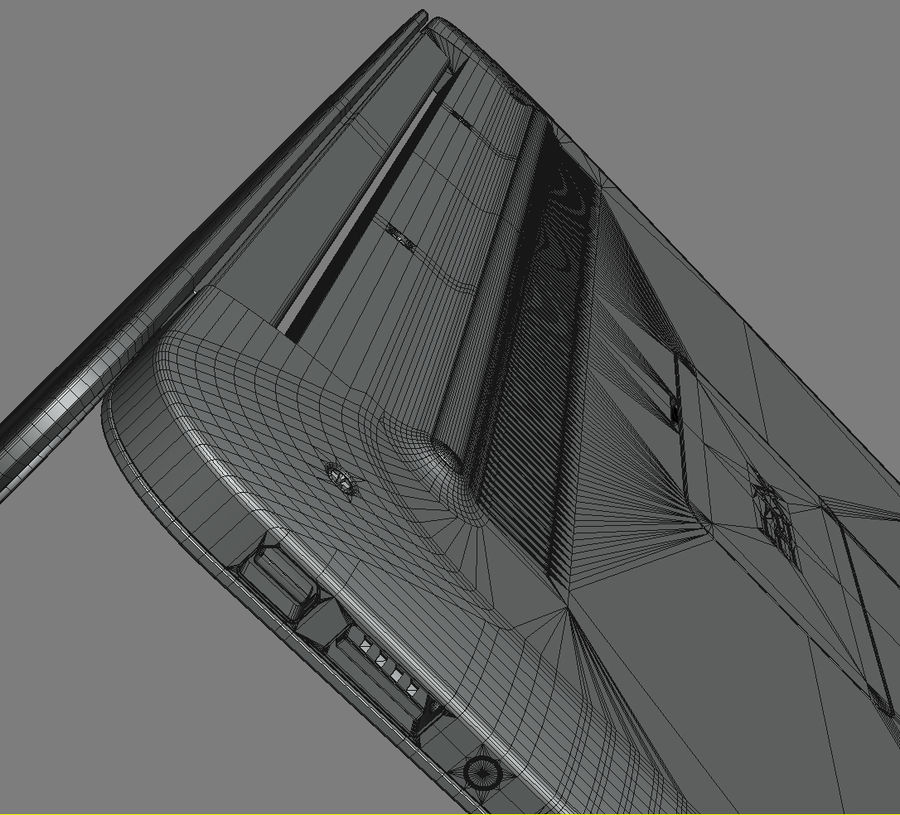 DELL XPS 13 Ultrabook royalty-free 3d model - Preview no. 24