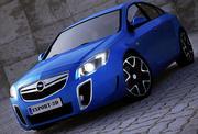 Opel Insignia OPC 3d model