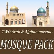Arab Mosque Pack 3d model