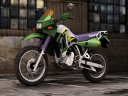 Kawasaki KLR 650 3d model