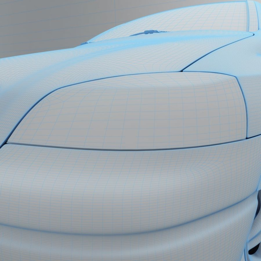 Opel Astra G royalty-free 3d model - Preview no. 33