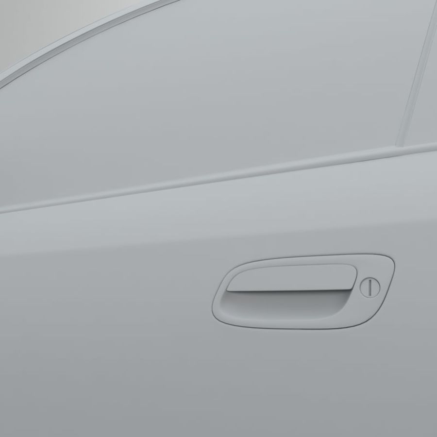 Opel Astra G royalty-free 3d model - Preview no. 41