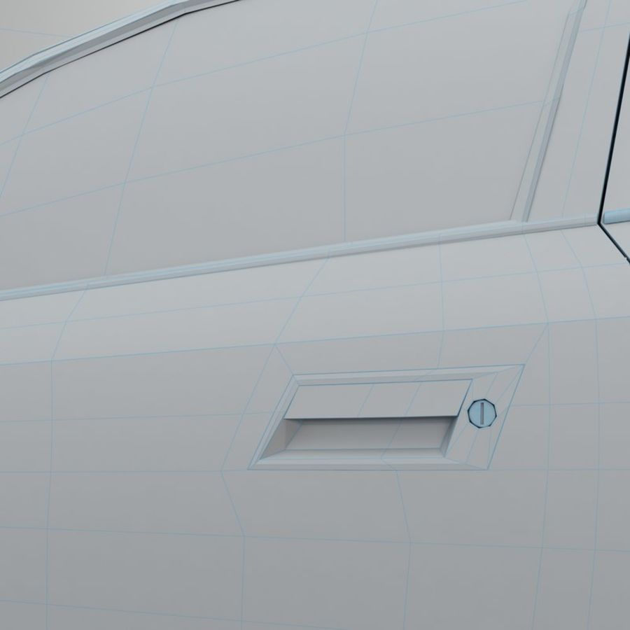 Opel Astra G royalty-free 3d model - Preview no. 43