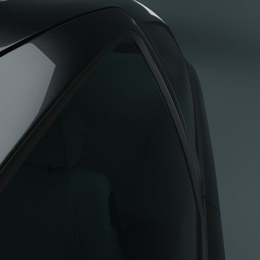 Opel Astra G royalty-free 3d model - Preview no. 8