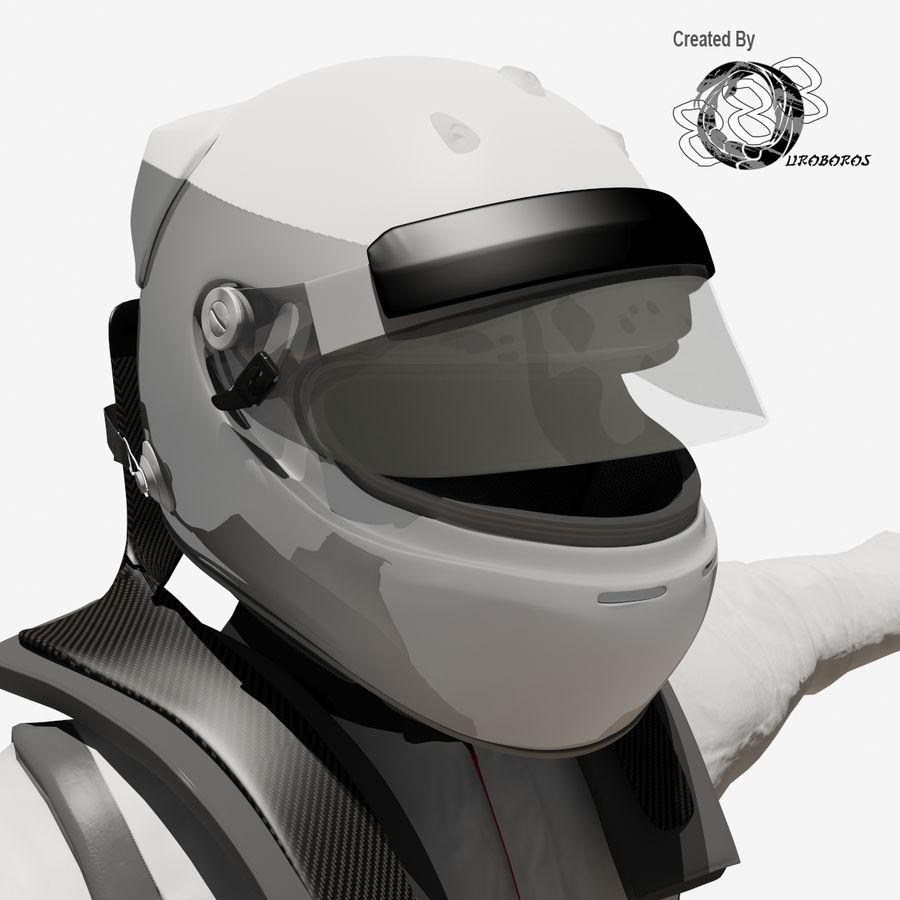 Yarış sürücüsü royalty-free 3d model - Preview no. 10