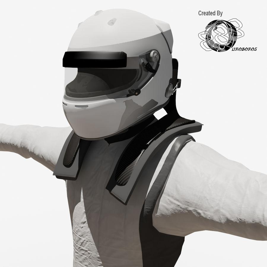 Yarış sürücüsü royalty-free 3d model - Preview no. 5