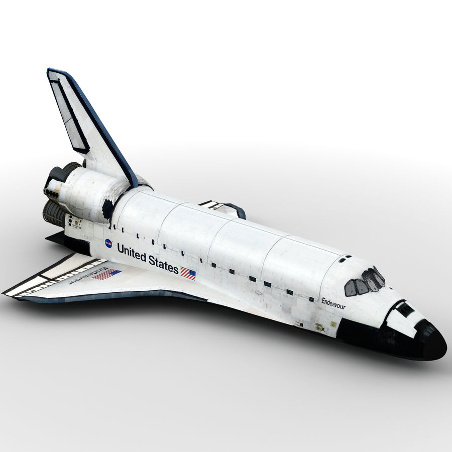 Nave espacial royalty-free 3d model - Preview no. 2