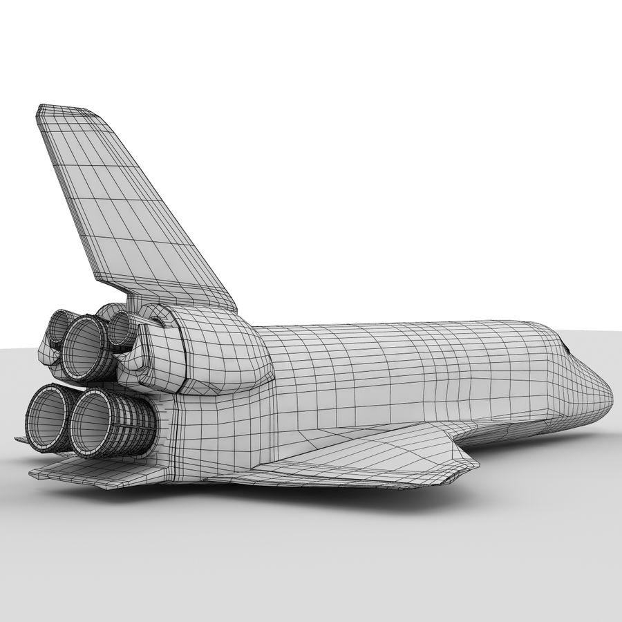 Nave espacial royalty-free 3d model - Preview no. 19