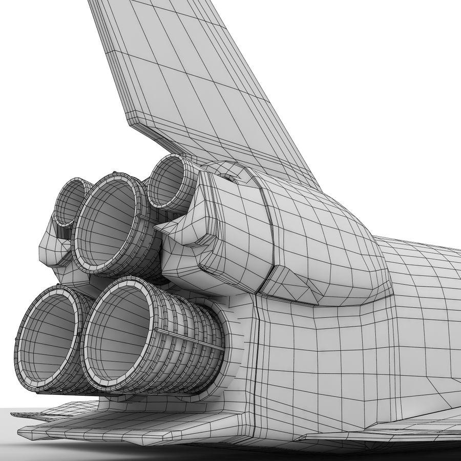 Nave espacial royalty-free 3d model - Preview no. 17