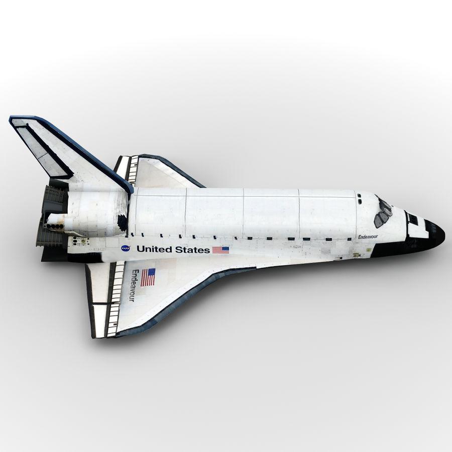 Nave espacial royalty-free 3d model - Preview no. 8