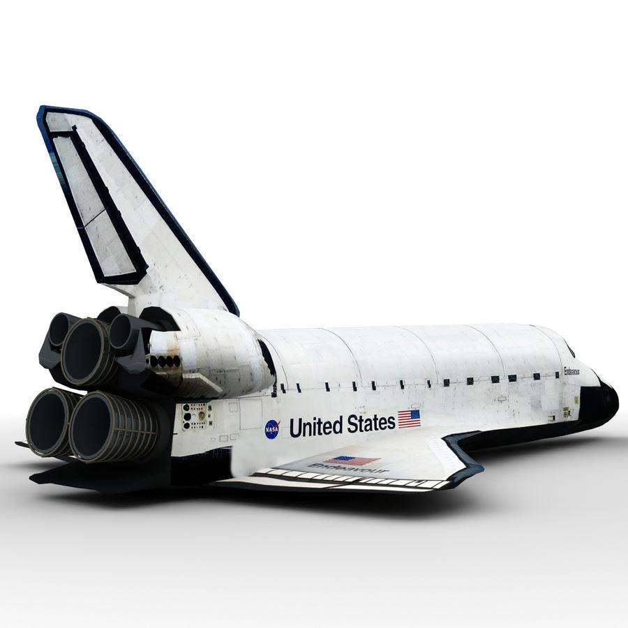 Nave espacial royalty-free 3d model - Preview no. 18