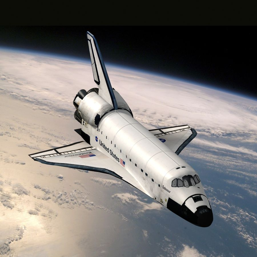 Nave espacial royalty-free 3d model - Preview no. 1