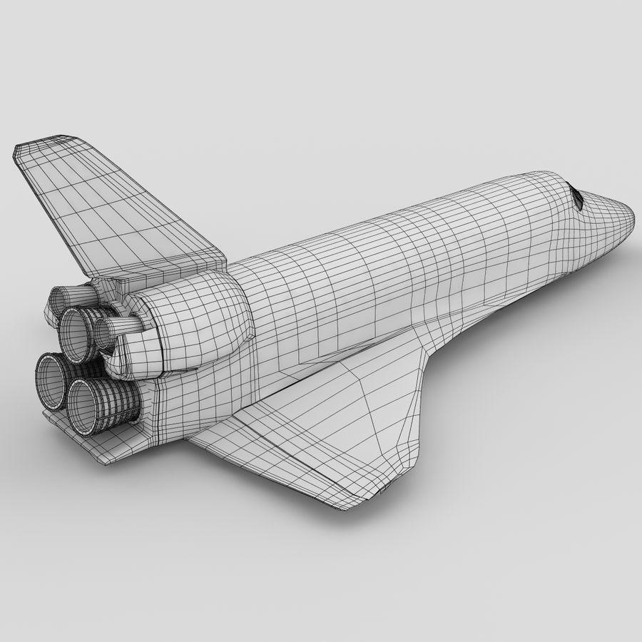 Nave espacial royalty-free 3d model - Preview no. 5