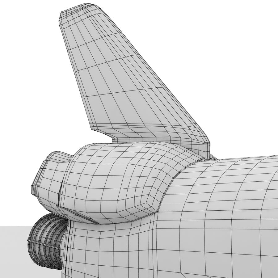 Nave espacial royalty-free 3d model - Preview no. 27