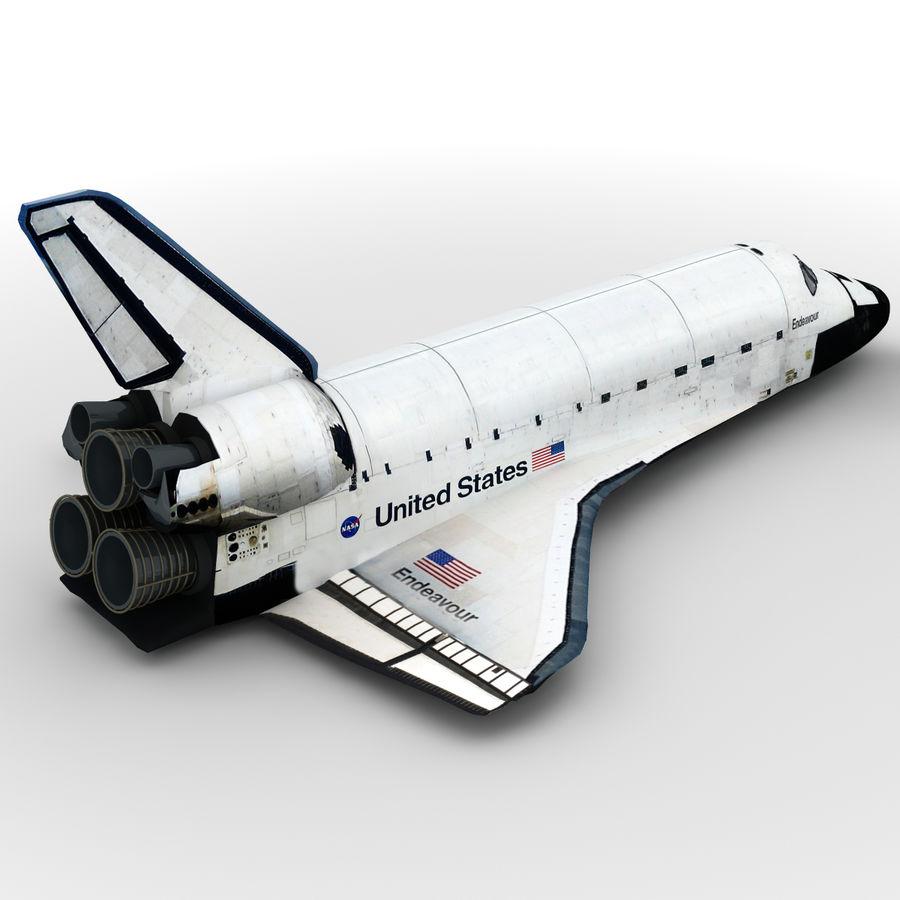 Nave espacial royalty-free 3d model - Preview no. 4