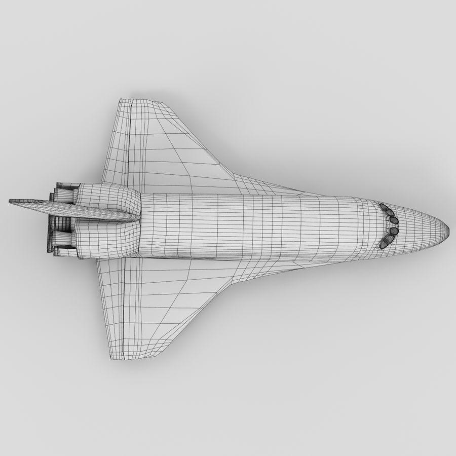 Nave espacial royalty-free 3d model - Preview no. 15