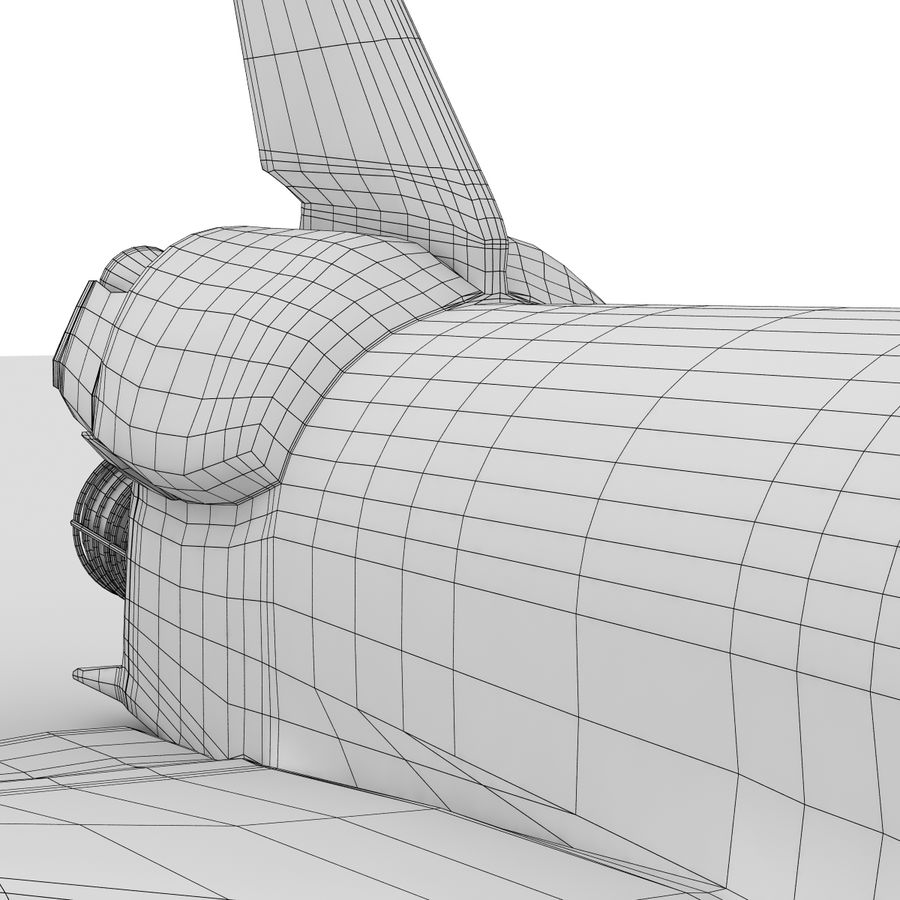 Nave espacial royalty-free 3d model - Preview no. 25