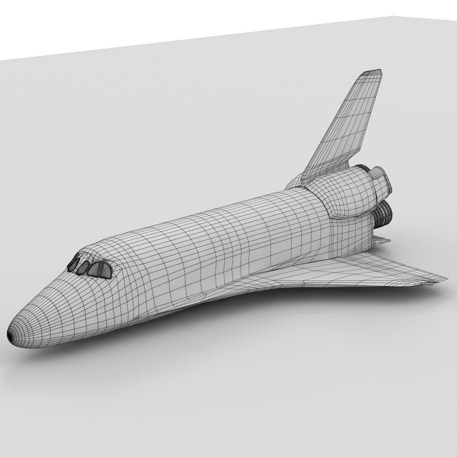 Nave espacial royalty-free 3d model - Preview no. 23