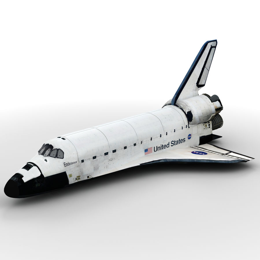 Nave espacial royalty-free 3d model - Preview no. 22