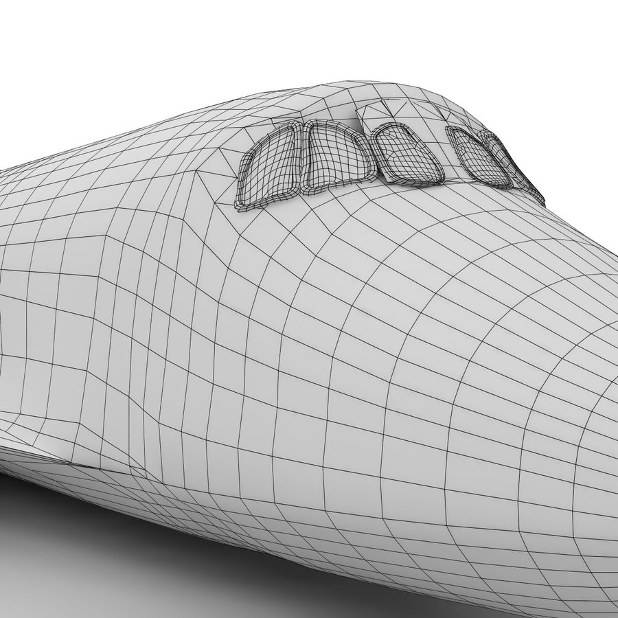Nave espacial royalty-free 3d model - Preview no. 21