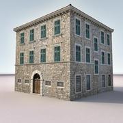 意大利建筑001 3d model