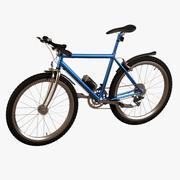 велосипед - гора 3d model